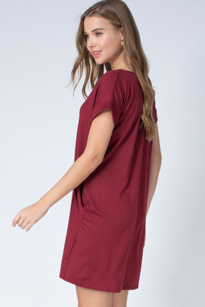 The Garnet Game Day Tee Dress