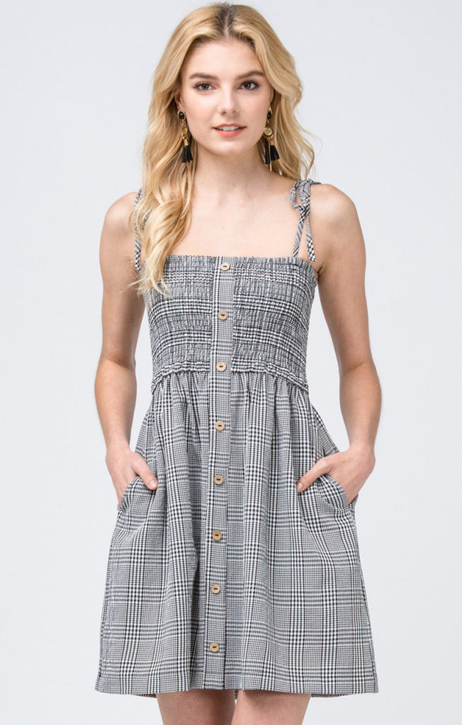 The Plaid Game Day Dress