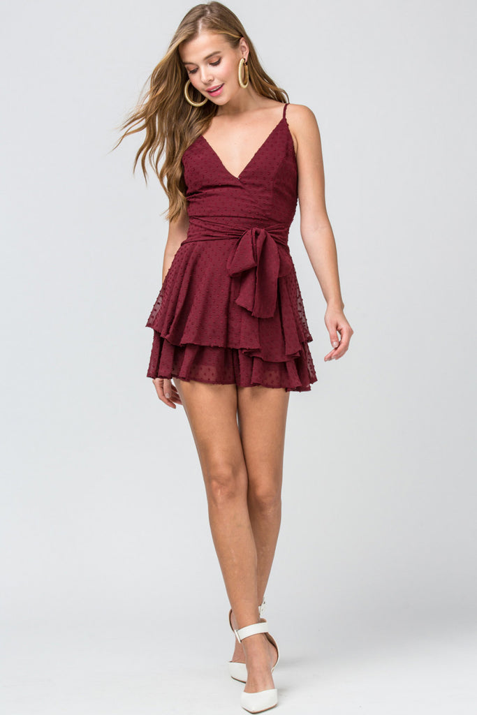 The Tally Ruffle Romper