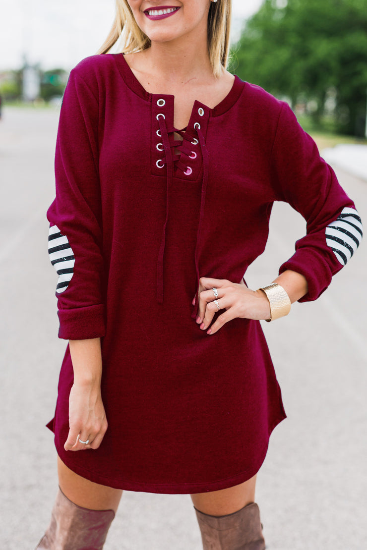 Florida State Seminoles Cozy Lace-Up Tunic (10358151553)