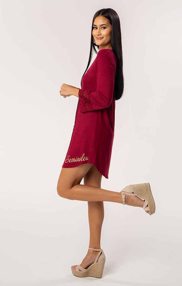 The Nikki Florida State Game Day Dress (1398654402608)