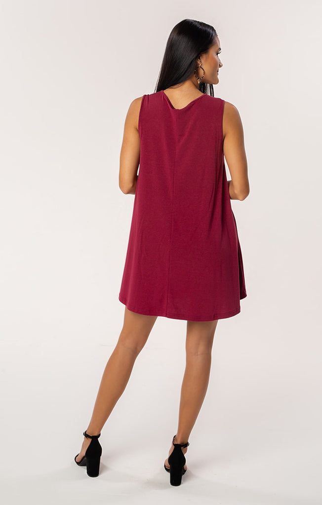 The Florida State Flowy Piko Tank Dress