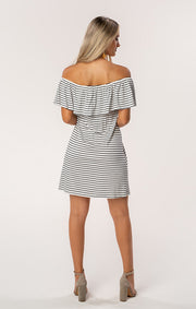 The Riley FSU Off Shoulder Game Day Dress (1378586460208)