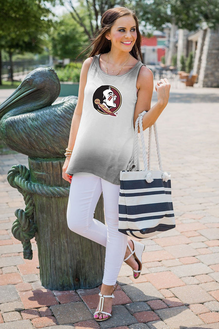 Florida State Seminoles Going Coastal Ombre Tank (536183570465)