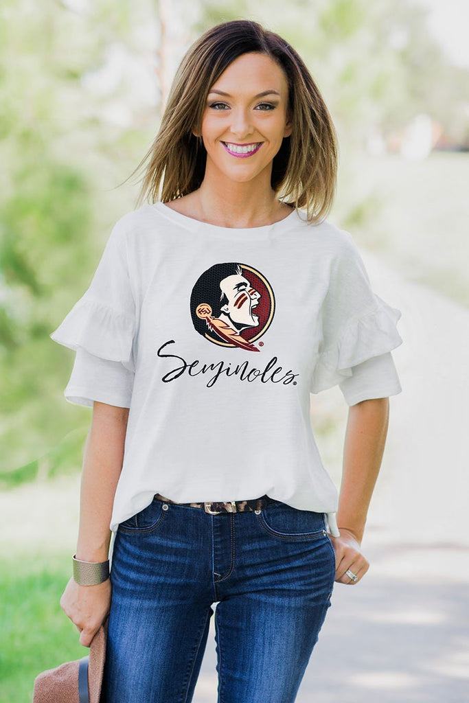 Florida State Seminoles Ruffled Up Tee