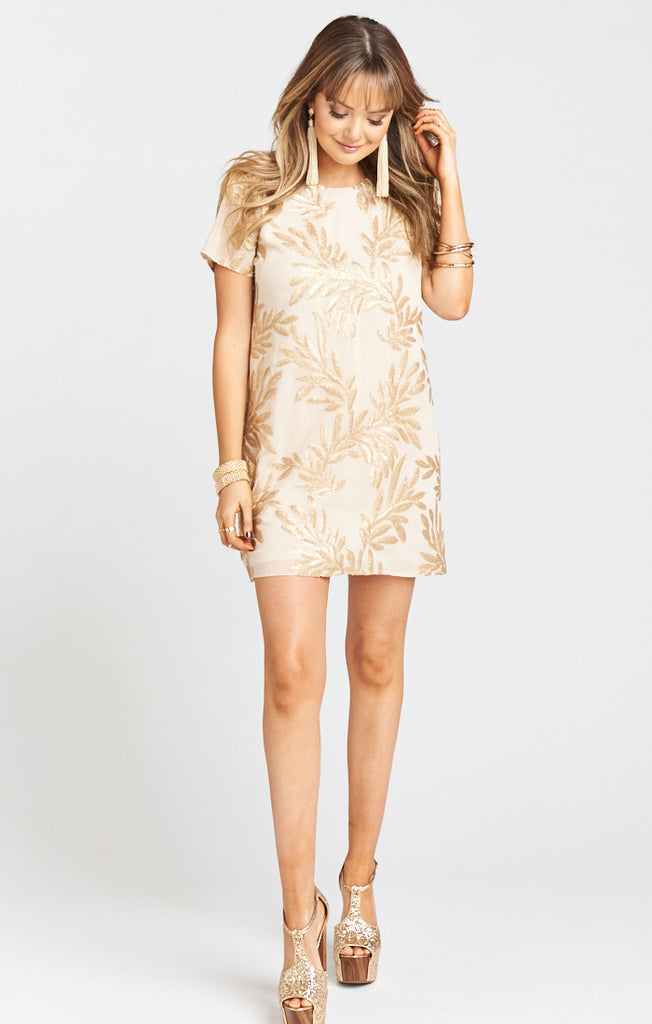 Golden Goddess Sparkle Tallulah Dress