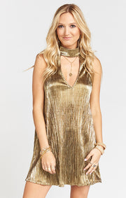Good as Gold Friday Choker Dress (355842326561)