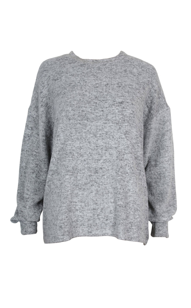 The Bailey Brushed Drop Shoulder Sweater