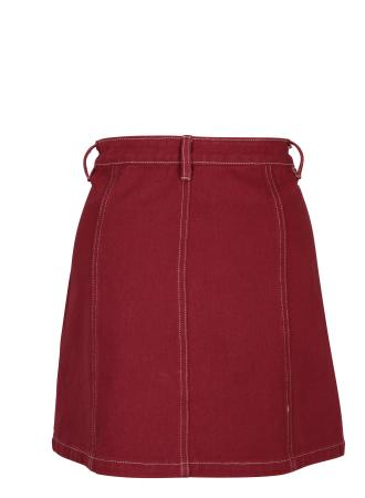 Garnet Denim Skirt