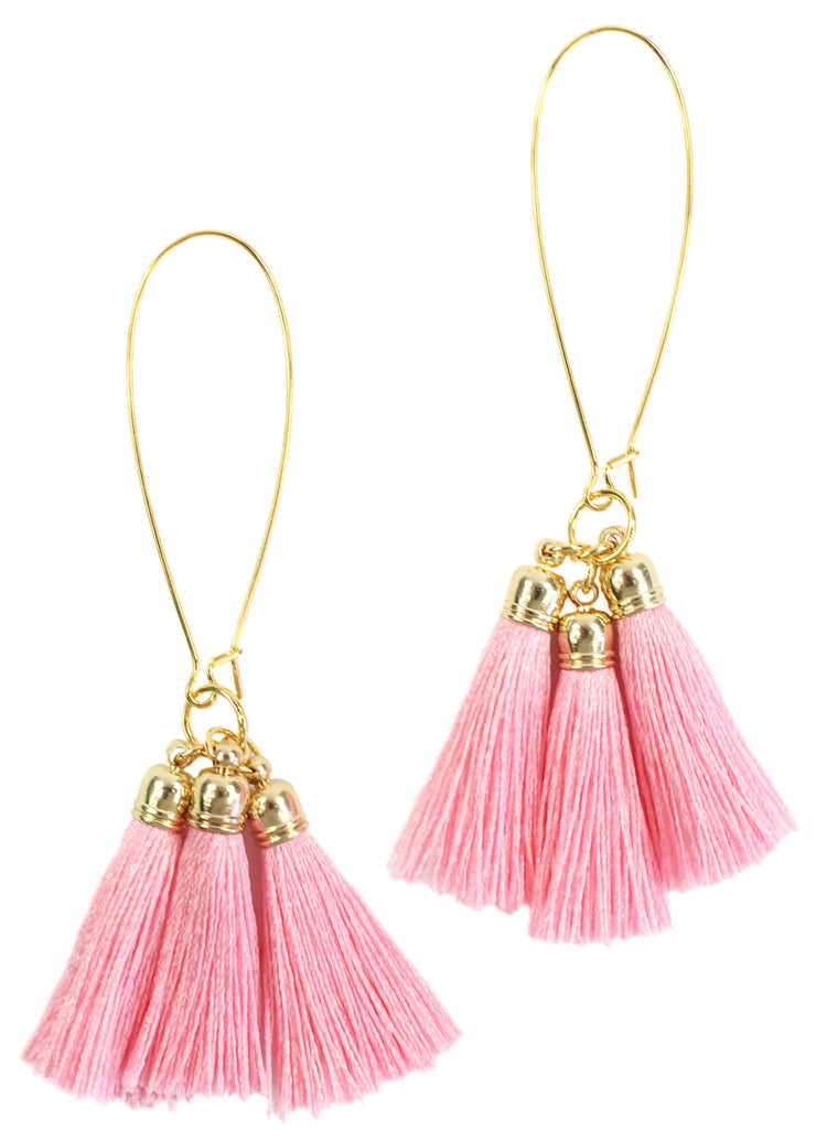 Bourbon and Boweties - Pink Tassel (572125610017)
