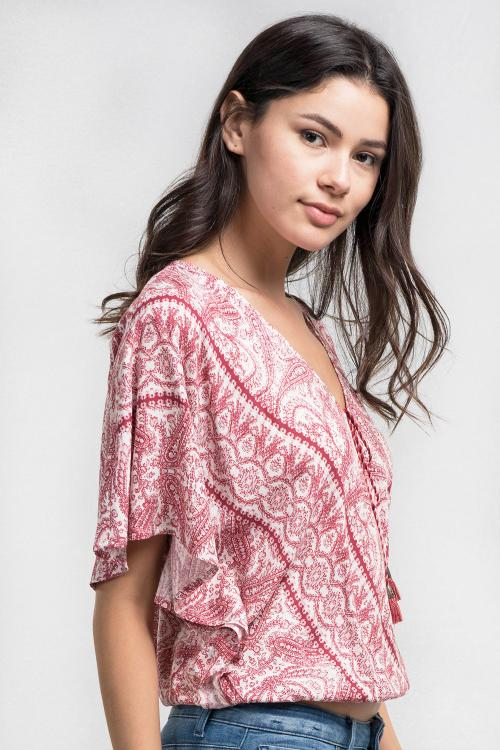 Sienna Surplice Top