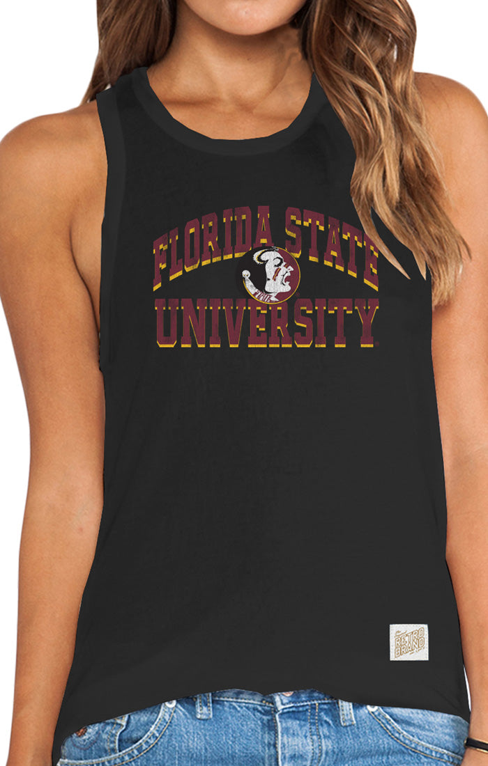 Lauren Vintage Racerback Florida State University Relaxed Tank (3823121793072)