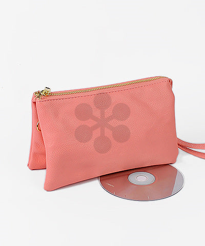 Double Pocket Crossbody - Light Pink (9740361345)