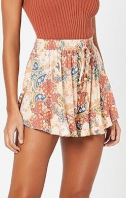 The Wanderer Fluted Shorts