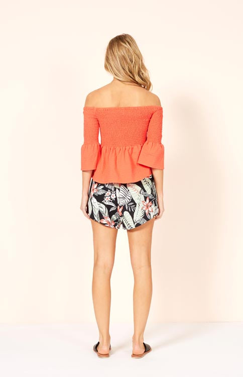 Aloha Cove Soft Shorts Shorts MINKPINK - Bows and Arrows FSU Seminoles and UF Gators Women's Game Day Dresses and Apparel