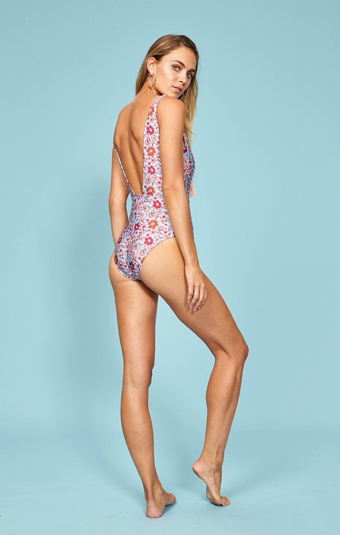 Chloe One Piece Swim MINKPINK - Bows and Arrows FSU Seminoles and UF Gators Women's Game Day Dresses and Apparel (587270127649)