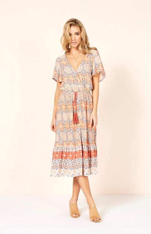 Days In Marrakesh Midi Dress Midi Dress MINKPINK - Bows and Arrows FSU Seminoles and UF Gators Women's Game Day Dresses and Apparel