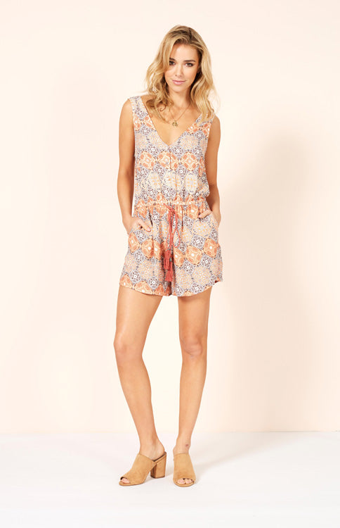 Days In Marrakesh Playsuit Romper MINKPINK - Bows and Arrows FSU Seminoles and UF Gators Women's Game Day Dresses and Apparel
