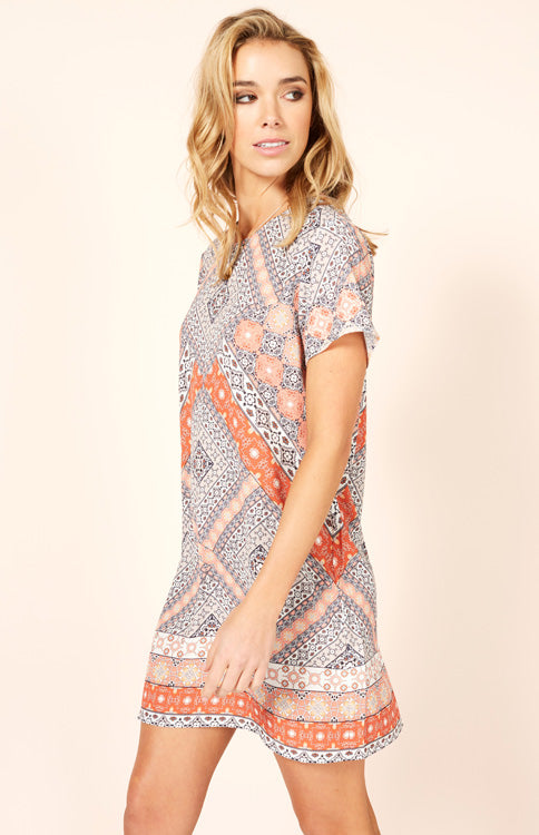 Days In Marrakesh T-Shirt Dress Dress MINKPINK - Bows and Arrows FSU Seminoles and UF Gators Women's Game Day Dresses and Apparel