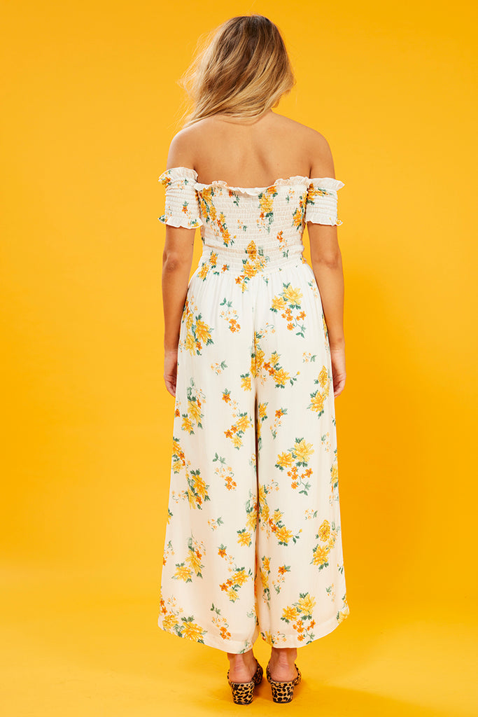 Lemon Bloom Jumpsuit