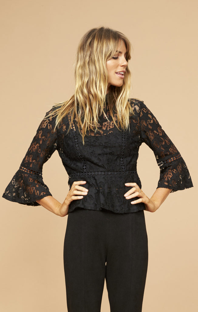 Starstruck Blouse - Black