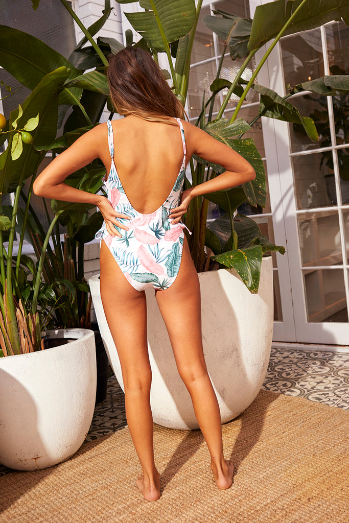 Anjuna Lace Up One Piece Swim MINKPINK - Bows and Arrows FSU Seminoles and UF Gators Women's Game Day Dresses and Apparel