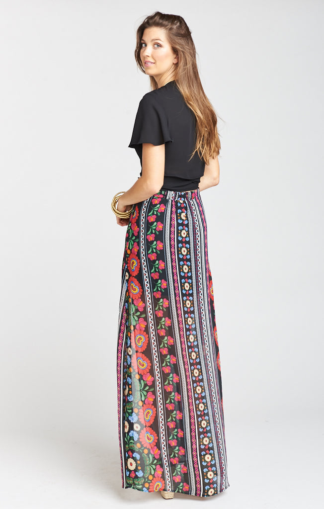 Mick Mexicali Double Slit Skirt