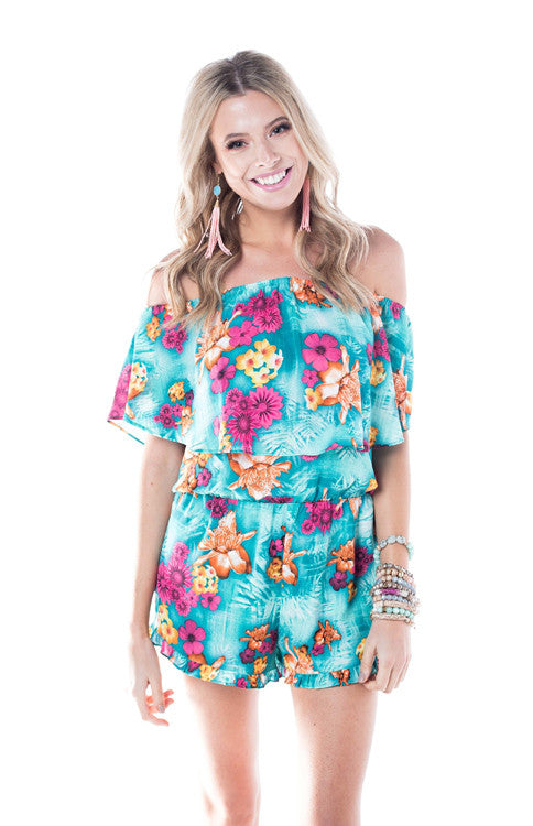 Mojito Tuttie Frutti Romper Romper Buddy Love - Bows and Arrows FSU Seminoles and UF Gators Women's Game Day Dresses and Apparel