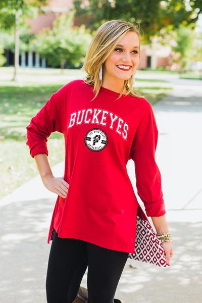 Ohio State University Buckeyes Women s Apparel - Game Day Couture ... 6c0c5c6ddd