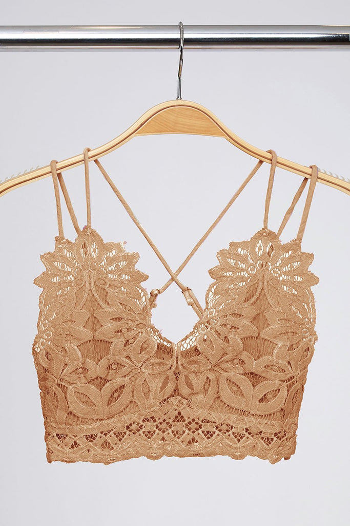 The Emmie Bralette - Taupe