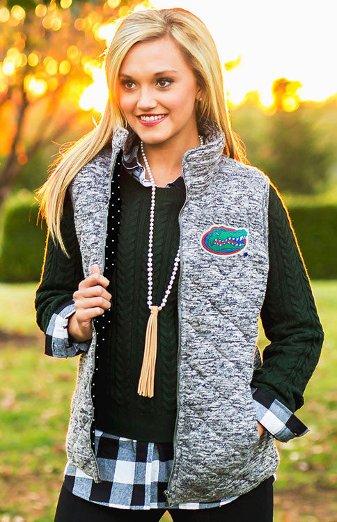 University of Florida Gators Quilted Vest