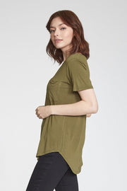 Safari Phoenix Pocket V-Neck Tee (3797800353840)