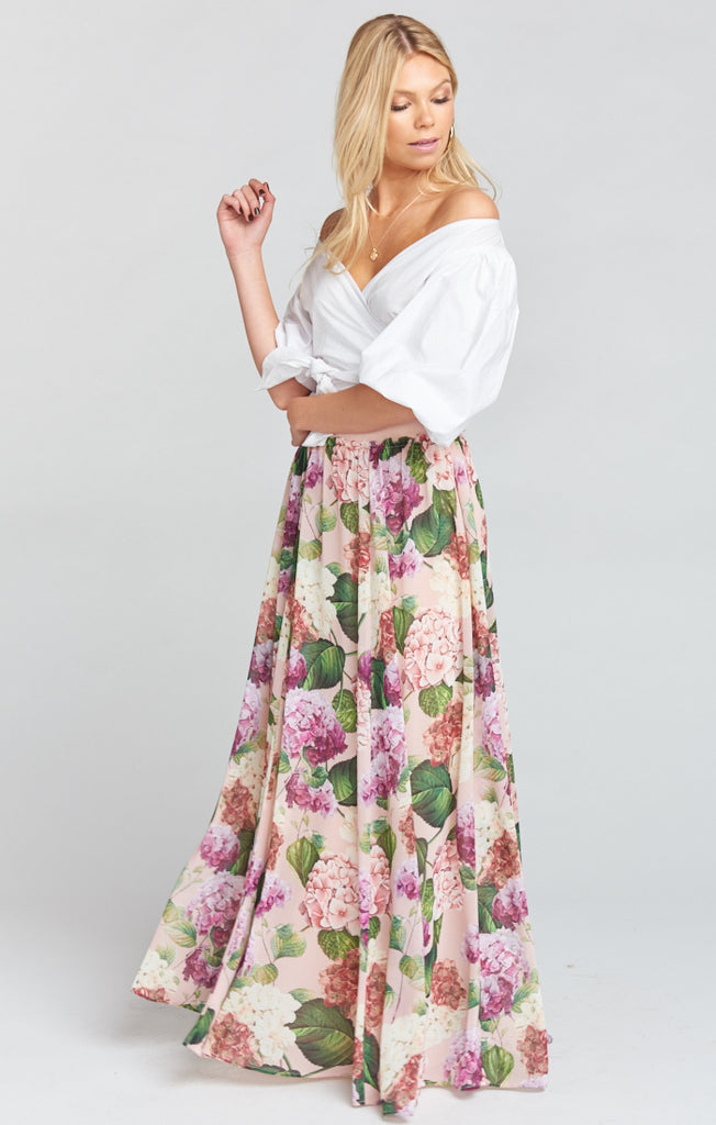 Misty Maxi Skirt Honey Bunches