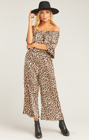 The Rowe Ruffle Jumpsuit Cheetah Fever (4170972823600)