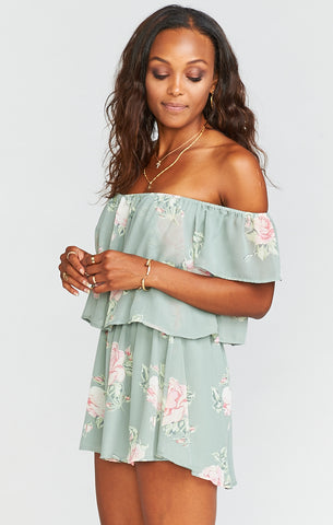 Raquel Everlasting Rose Smocked Top