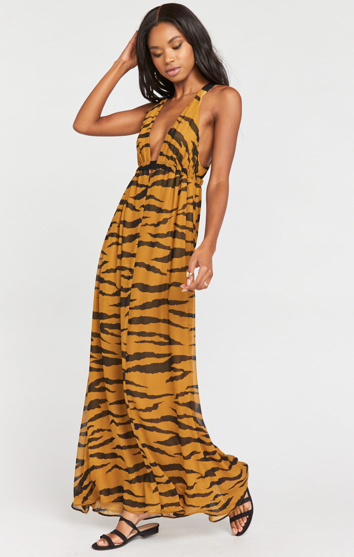 Ellory Maxi Dress - Great Tiger (4416180092976)