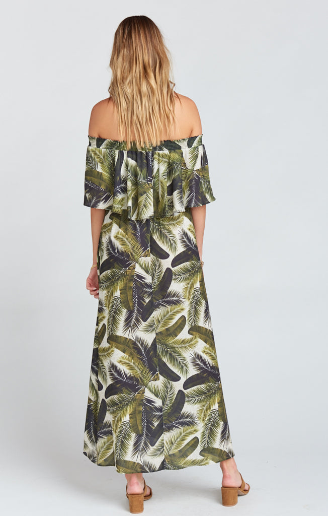 Fronds of Mine Baby Haci Maxi Dress