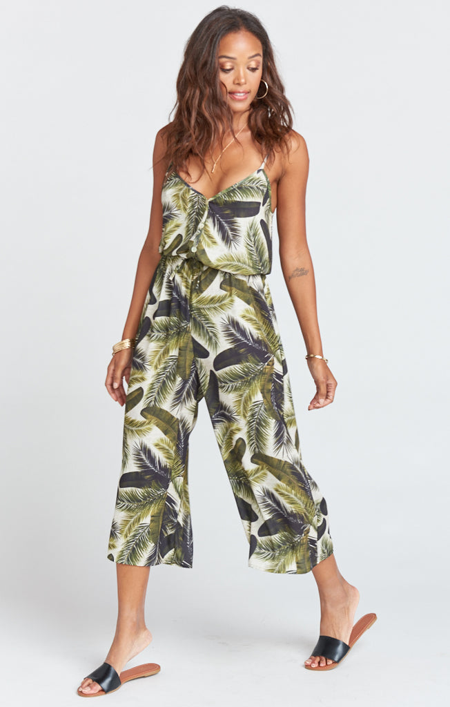 Fronds of Mine Dree Playsuit
