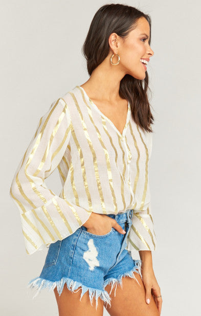 Mercer Tunic South Beach Stripe Gold (2199379574832)