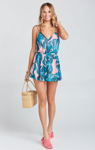 Olympia Palms Away Romper