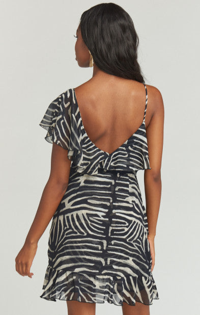 Santanita Mini Dress Zebra King