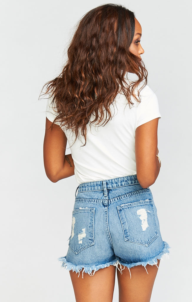 Wyoming Surf High Waisted Shorts