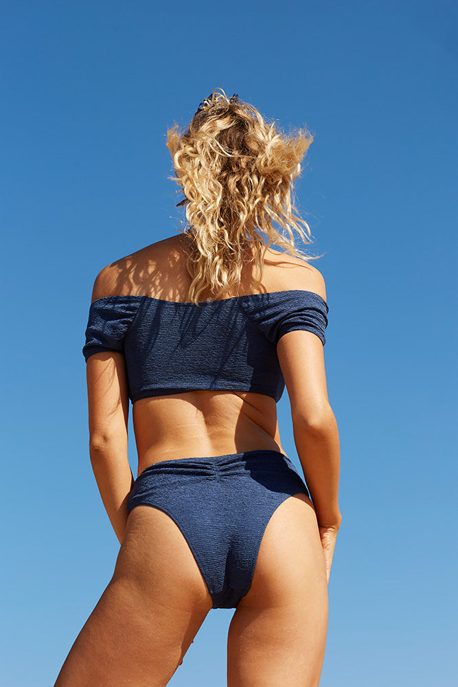 Midnight Swim High Bottoms - Midnight Blue (2158622310448)