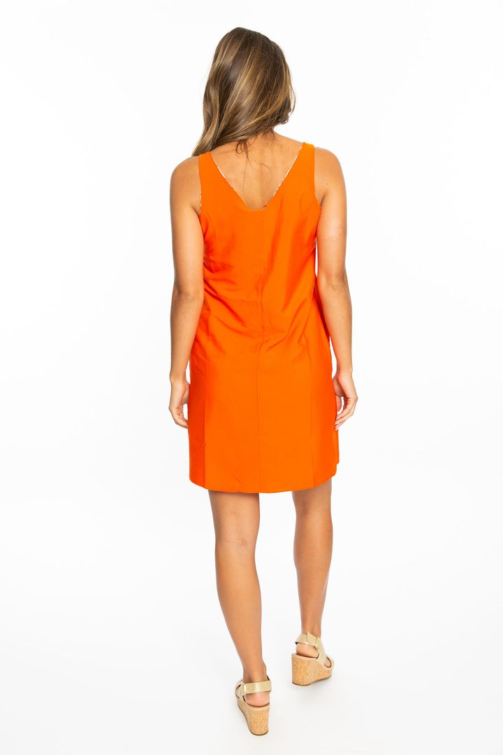 The Tiger Reversible Game Day Dress (3815791034416)