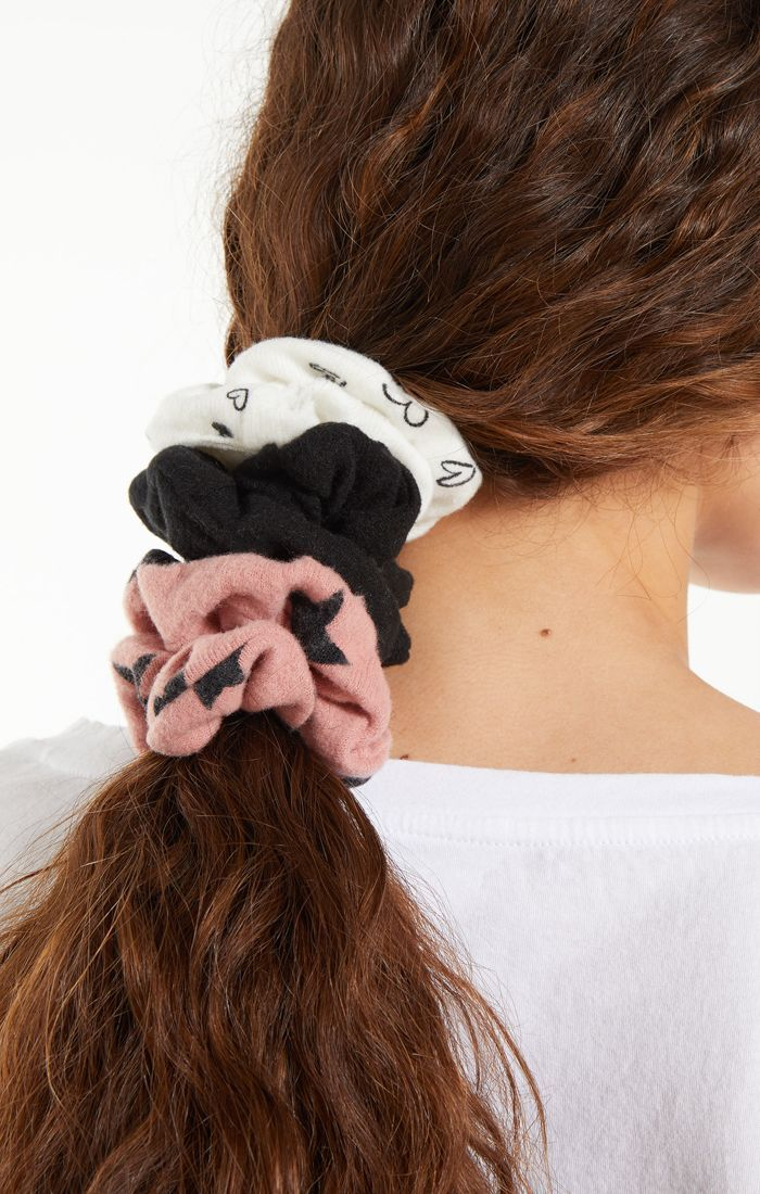 The Rose Blossom Scrunchies (3 Pack)