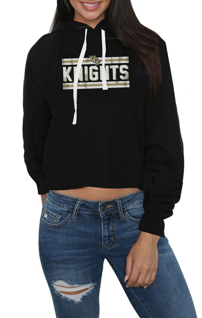 The Ashley Cropped UCF Knights Hoodie