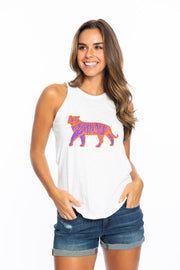 The Clemson Lace Back Tank (3815791820848)