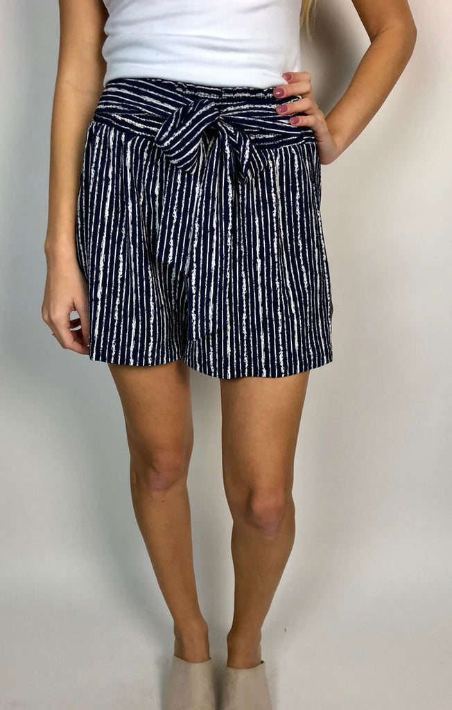 The Harding Smocked Woven Short