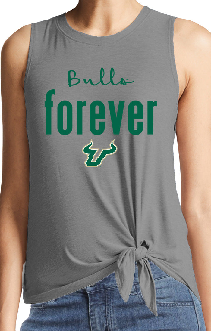 The Kendall Bulls Forever Knot Front Tank (3845418156080)