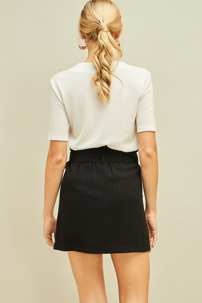 The Paperbag Game Day Skirt
